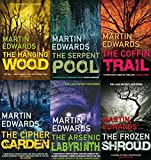 MARTIN EDWARDS MARTIN EDWARDS 6 BOOK SET HANGING WOOD SERPENT POOL THE COFFIN TRAIL THE CIPHER GARDEN THE ARSENIC LABYRINTH & THE FROZEN SHROUD