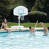 Dunn Rite Splash & Shoot Port Regulation-Size Pool Basketball Hoop Set