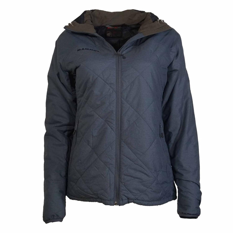 Mammut Jacke wattiert Winterjacke Winter Funktionsjacke Damen Pischa IS Hooded Jacket Women Blau-Grau günstig online kaufen