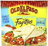 Old El Paso Extra Mild Fajita Kit 476 g (Pack of 2)