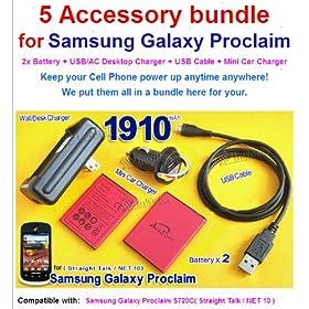 Galaxy S3 Battery High Power 2X 4000mAh Replacement Battery ...