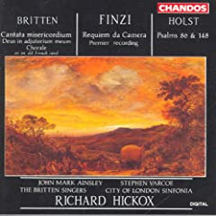 Britten / Finzi / Holst: Sacred Works