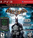 Batman Arkham Asylum Game of the Year Edition PS3 [US Import]