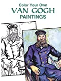img - for Color Your Own Van Gogh Paintings (Dover Art Coloring Book) book / textbook / text book