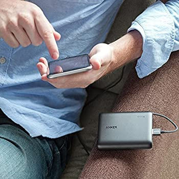 Anker PowerCore 13000 (13000mAh 2ポート 大容量 モバイルバッテリー パナソニックセル搭載) iPhone / iPad / Xperia / 新しいMacBook / Android各種他対応 コンパクトサイズ 【PowerIQ & VoltageBoost搭載】 ブラック