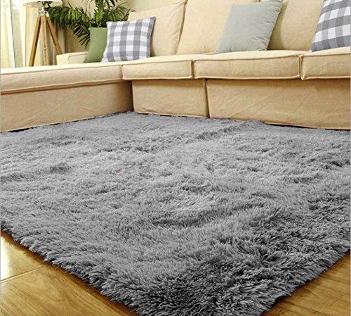 80*120cm Living Room Floor Mat/cover Carpets Floor Rug Area Rug [Gray]