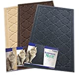Tapis de litière pour chat - XL Extra Large - meilleure extragroße Tapis Litière pour chats, la litière en leur Box Porter - Toucher doux - élégant pour votre maison...