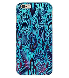 PrintDhaba Pattern D-2833 Back Case Cover for APPLE IPHONE 6S (Multi-Coloured)
