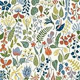 """Scandinavian Designers 2743 Vlies-Tapete Stig Lindberg Herbarium stilisierte Blumen und Bl�ten Wei�von """"BorasTapeter"""""""