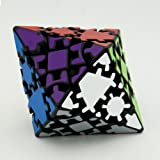 Qiyun Polyhedron Magic Skewb Cube with Sticker, Pyramid Gear Speed Cube Puzzle Toy Ideal Gift