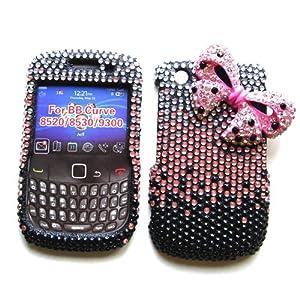 Blackberry curve 8520 stylish back cover