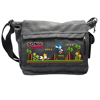 "AbyStyle - Sac Besace SONIC ""Green Hills Level"" Grand Format - 3760116329057"