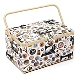 HobbyGift HGXL/159 | XL Premium Sewing Box Notions Design