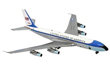 Maquette BOEING 707-300 AIR FORCE ONE VC-137 26000 John Fitzgerald KENNEDY 1/200