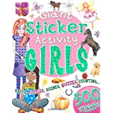 Giant Sticker Activity Book for Girlsby Belinda Gallagher
