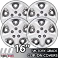 16 Inch Universal Clip-On Hubcap Covers
