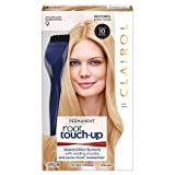 Clairol Nice 'N Easy Permanent Hair Color Root Touch-Up Kit, 9 Matches Light Blonde Shades (Pack of 2) (Packaging May Vary) (Color: 9 Light Blonde/Ash Blonde, Tamaño: 2 Count)