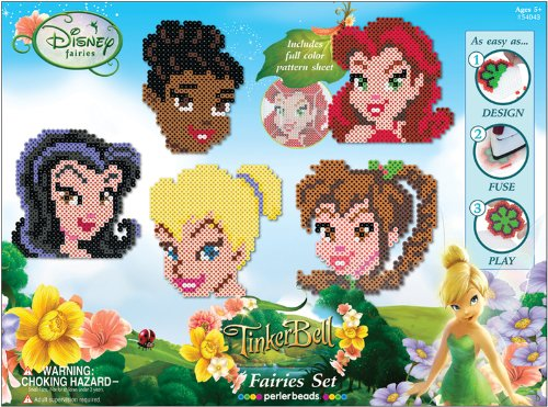New - Perler Disney Fuse Bead Value Activity Kit-Fairies by WMU
