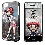 ライセンスエージェント デザジャケット「クロスアンジュ 天使と竜の輪舞」iPhone 5/5Sケース&保護シート デザイン4 DJAN-IPC2-m04