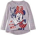 Disney Girls' Minnie Mouse Long Sleev...