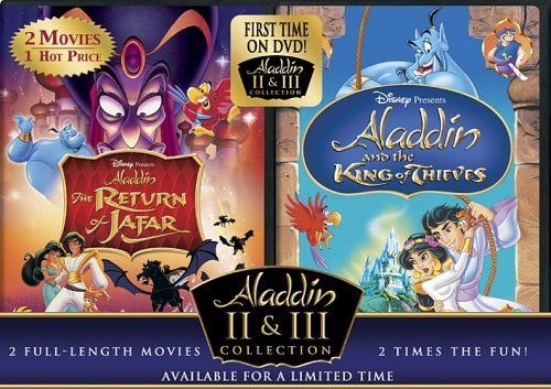 Cover art for  The Return of Jafar/Aladdin and the King of Thieves (Aladdin 2 &amp; 3 Collection)
