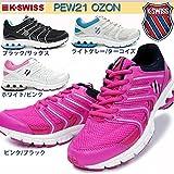 (ケースイス) K-SWISS レディーススニーカー PEW21 OZON 23.5cm LGY/TQ(ライトグレー/~)