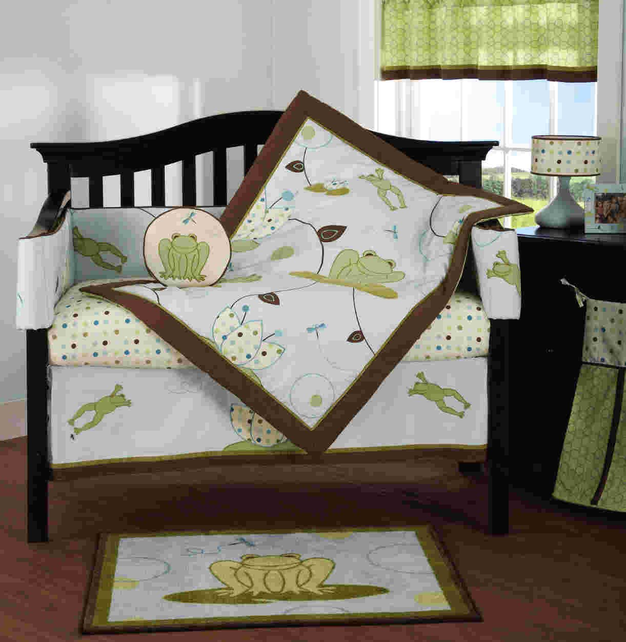 Beansprout Hopper Crib Bedding