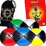 5x Balles de Jonglage Cuir PU - Mr Ba...