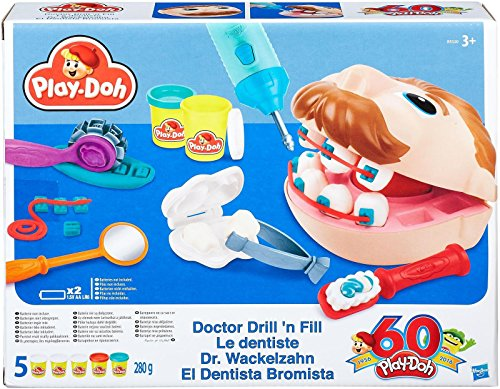 Play-Doh B5520 Doctor Drill N Fill Playset (Play Doh Drill compare prices)
