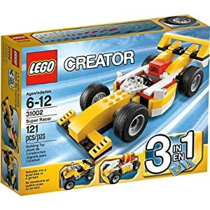 LEGO Creator Super Racer Playset - 31002