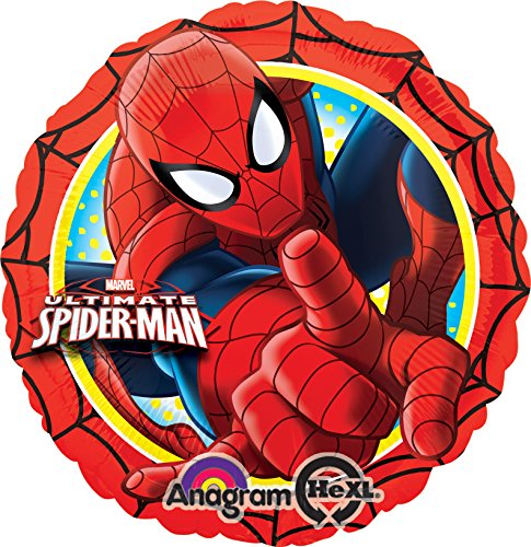 """ULTIMATE SPIDERMAN ACTION FOIL BALLOON (EACH), 17"""""""
