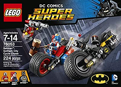 Lego Super Heroes Batmantm Gotham City Cycle Chase 76053 from LEGO