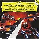 Dvorak-Quintette Op81*Quatuor Op 87*Piano Pressler-Emerson Q