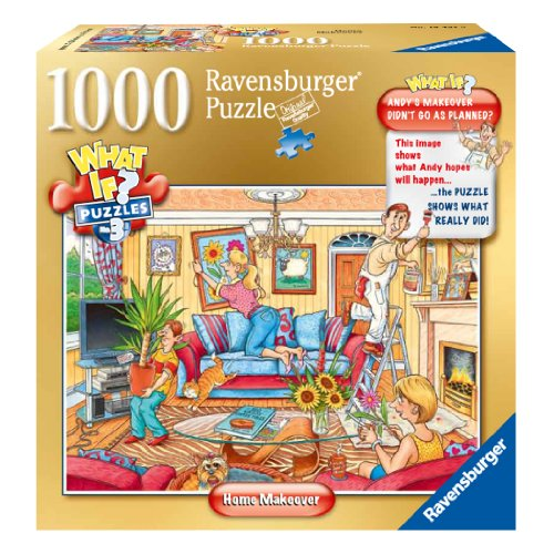 Ravensburger Home Makeover What If? Jigsaw Puzzle (1000-Piece)