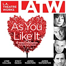 As You Like It Performance Auteur(s) : William Shakespeare Narrateur(s) : Lynn Collins, Alexis Jacknow, Jeff Gardner, Stacy Keach, James Marsters, André Sogliuzzo, Summer Spiro, James Waterson, Jules Wilcox, Matthew Wolf