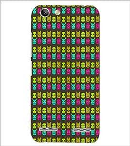 PrintDhaba Pattern D-5906 Back Case Cover for LENOVO LEMON 3 (Multi-Coloured)