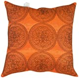 Urban Loft by Westex Regal Cushion, 20 by 20-Inch, Burnt Orange