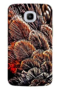 Omnam Leaves Bunch Printed Designer Back Cover Case For Samsung Galaxy J2 2016