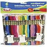 Iris 150-Pack Embroidery Super Giant Floss Pack, 8m