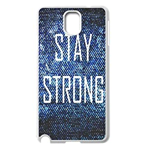 Case for Samsung Galaxy Note 3 N9000, Stay Strong Phone Case -R656638