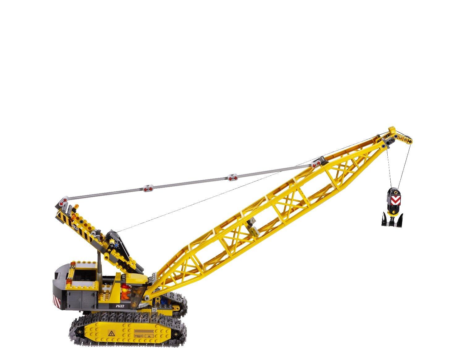 Lego City Crane Lego City 7632 Crawler Crane