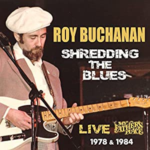 Shredding the Blues: Live At My Father's Place from Rockbeat Records
