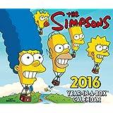 The Official the Simpsons 2016 Desk Block Calendar (Box)