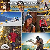 12-in-1 Headband [Solids] - Versatile Lightweight Sports & Casual Headwear - Bandana, Neck Gaiter, Balaclava, Helmet Liner, Mask & More. Constructed with High Performance Moisture Wicking Microfiber