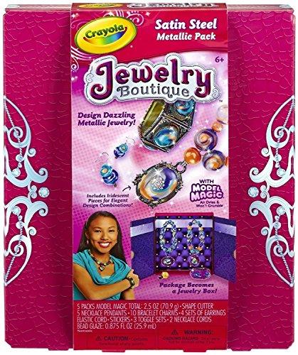 Crayola Model Magic Jewelry Boutique Mega Metallic Gift Set - 1