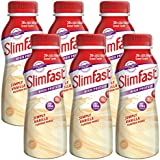 Slim Fast  Vanilla Milkshake Multipack Bottle 325ml (Pack of 6)