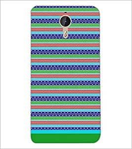 PrintDhaba Tribal Pattern D-1726 Back Case Cover for LETV LE 1 PRO ULTRA (Multi-Coloured)