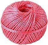 新潟エースロープ ダイヤロープ(玉巻ロープ) 3×100m 赤