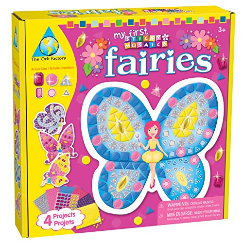 The Orb Factory Limited My First Sticky Mosaics Fairies