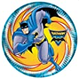 Batman Superhero 23cm Plates - Pack of 8